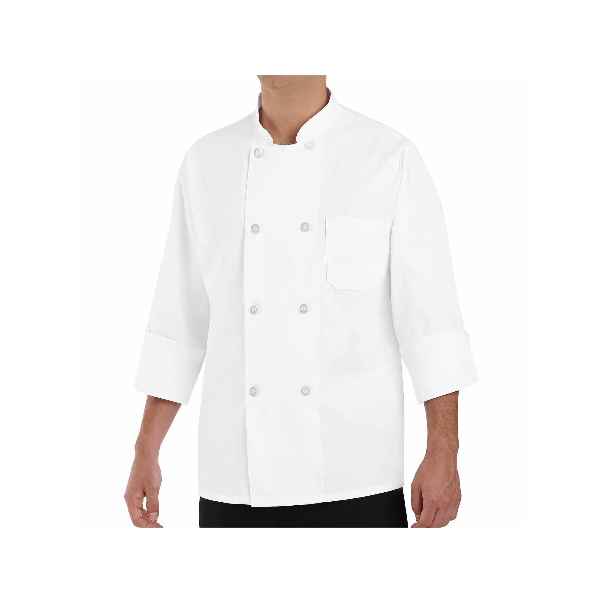 Chef Designs Long-Sleeve Chef Coat plus size,  plus size fashion plus size appare
