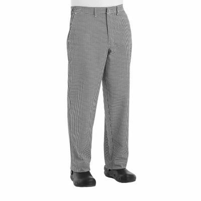 Chef Designs® Button-Front Chef Pants–Big & Tall