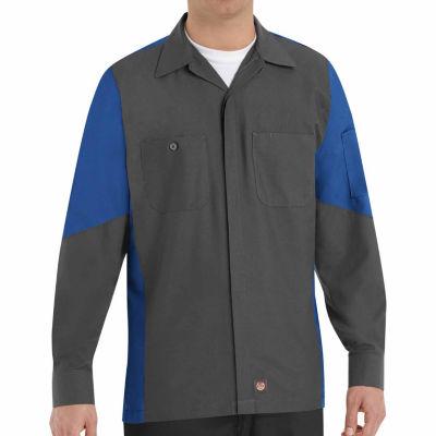 Red Kap Long Sleeve Crew Shirt - Big & Tall