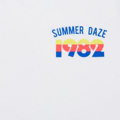 "Arizona ""Summer Daze 1982"" Graphic T-Shirt- Juniors Plus"