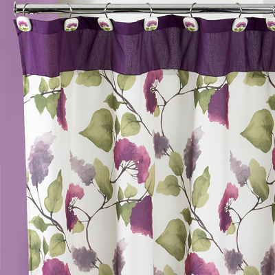 Popular Bath Jasmine Shower Curtain