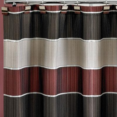 Popular Bath Modern Line Shower Curtain