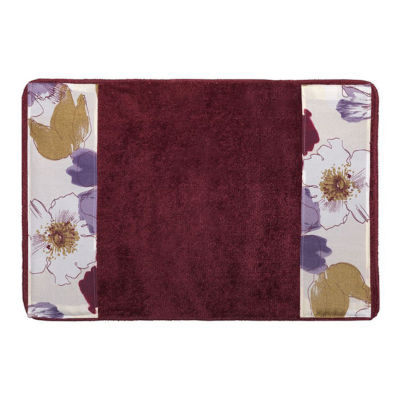 Popular Bath Dahlia Bath Rug Collection
