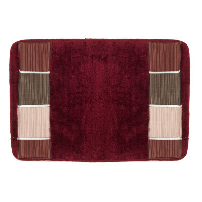 Popular Bath Modern Line Bath Rug Collection