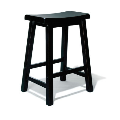 Antique Black Bar Stool