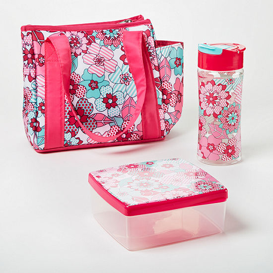 Fit & Fresh Natalie Lunch Kit 3-pc. Lunch Bag
