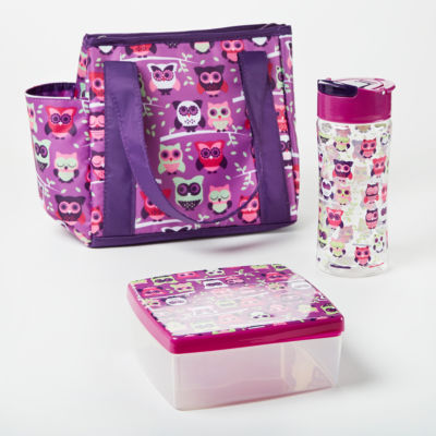 """Fit & Fresh """"Natalie Lunch Kit 3-pc. Lunch Bag"""
