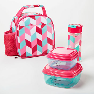 Fit & Fresh Lillie Lunch Kit 4-pc. Lunch Bag