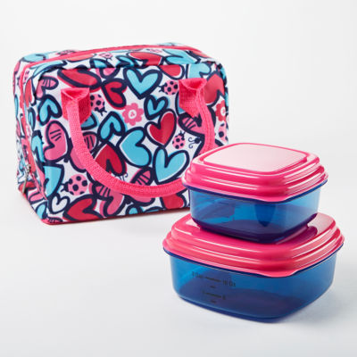 Fit & Fresh Anastasia Lucnh Kit 3-pc. Lunch Bag