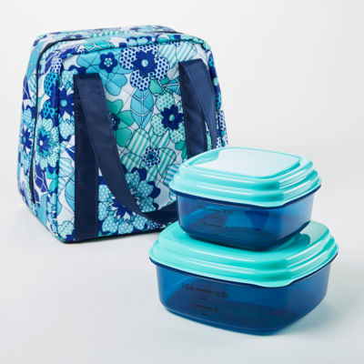 Fit & Fresh Polly Lunch Kit 3-pc. Lunch Bag