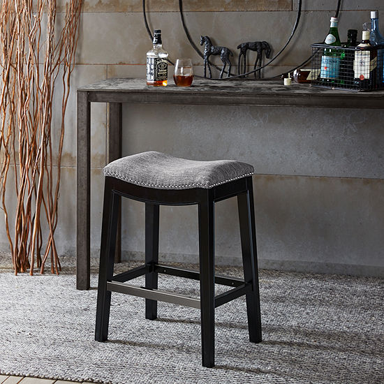 Madison Park Saddle Counter Stool