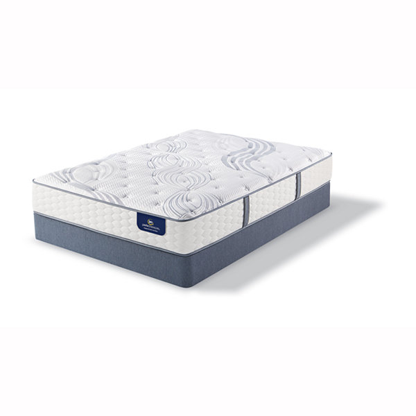 Serta Perfect Sleeper Elite Whitepond Plush Mattress Box Spring