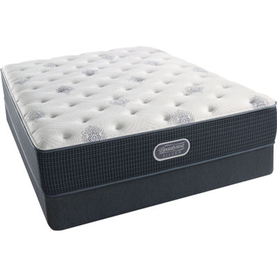 Simmons Beautyrest Silver Snowhaven Luxury Firm Mattress Box