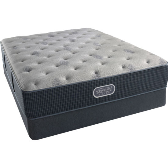 Simmons Beautyrest Silver® Emory Hope Luxury Plush - Mattress + Box Spring