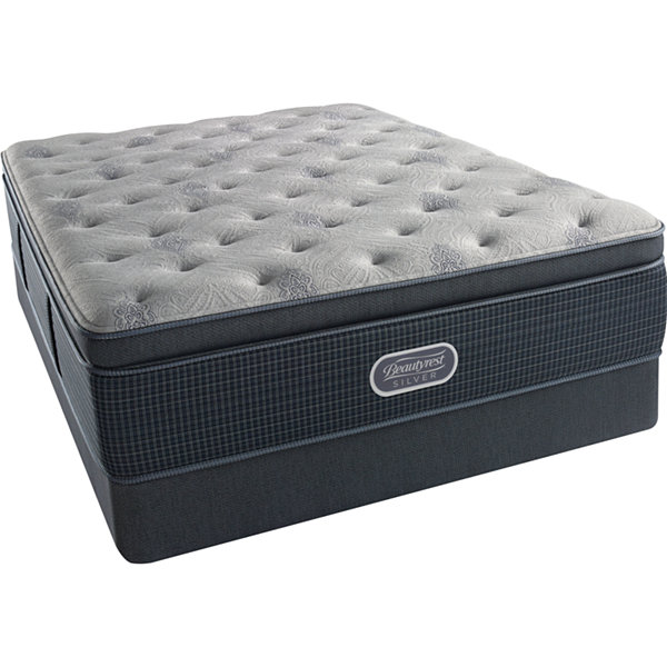 Simmons Beautyrest Silver Emory Hope Pillowtop Luxury Firm Mattress Box Spring