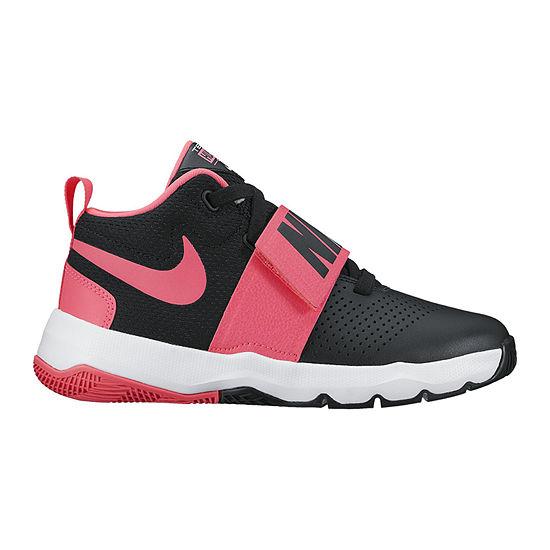 60d66f7772315 Nike Team Hustle D 8 Girls Basketball Shoes - Big Kids