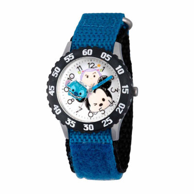 Disney Tsum Tsum Boys Blue Strap Watch-Wds000114