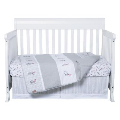 Trend Lab Cat Comes Back 4-pc. Crib Bedding