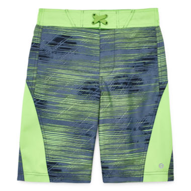 Xersion Boys Pattern Trunks-Big Kid