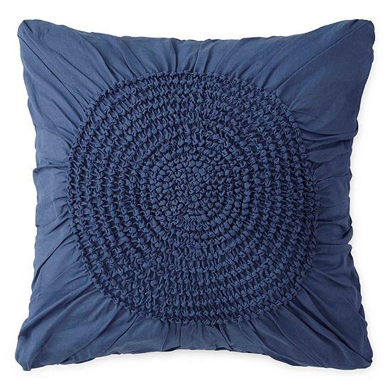 Home Expressions Emma Medallion Square Decorative Pillow