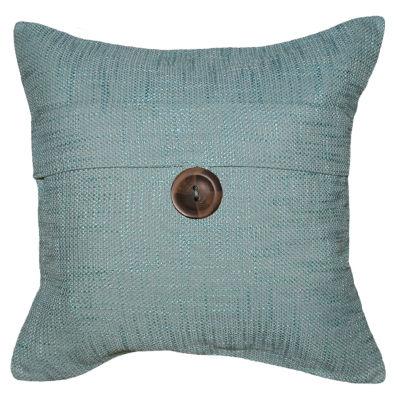 Beaumont Button Square Decorative Pillow