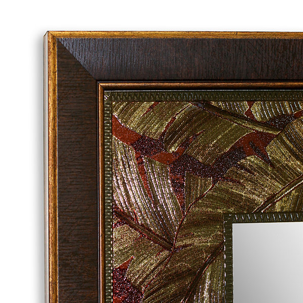 Tropical Leaf Wall Mirror
