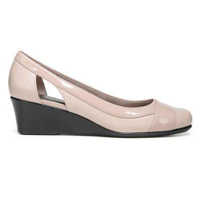 Lifestride Womens Grandeur Slip-On Shoe Square Toe-Wide Width