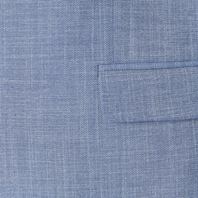 JF J.Ferrar Blue Slub Slim Fit Stretch Suit Jacket