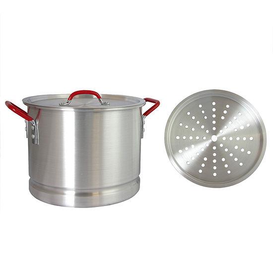 Pamona 20 Qt Tamale Pot W/Steamer Insert
