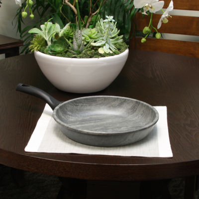 Tosca Carucci 11 inch Italian Marble Frying Pan with Bakelite Handle