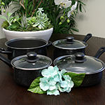 Gibson Home Casselman 7 piece Cookware Set with Bakelite Handle