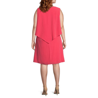 Dr Collection Sleeveless Sheath Dress - Plus