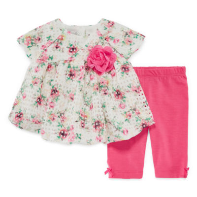 Marmellata Capri Set 2-pack Legging Set-Baby Girls