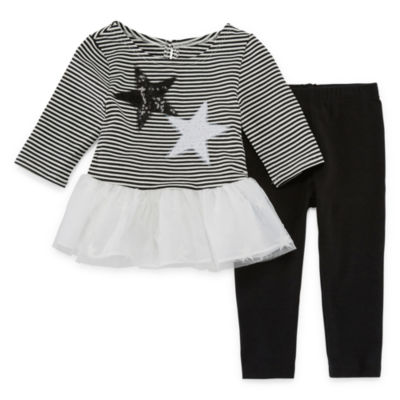 Marmellata Stars Stripes 2-pc. Legging Set-Baby Girls
