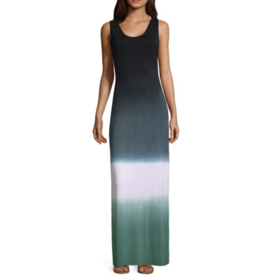 Lm Beach Ombre Jersey Swimsuit Cover-Up Dress