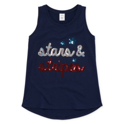 City Streets Sequin Tank Top - Girls' 4-16 and Plus