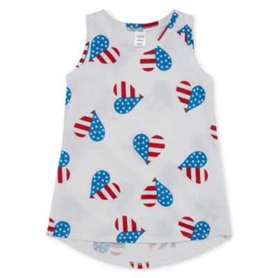 City Streets Graphic Tank Top - Girls' 4-16 and Plus