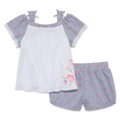 Okie Dokie 2-pack Short Set Toddler Girls