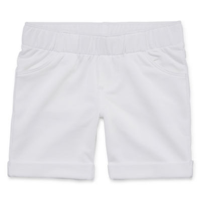 Okie Dokie Jersey Bermuda Shorts - Toddler Girls
