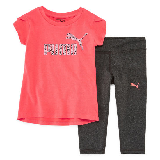 Puma Puma Kids Apparel 2-pack Legging Set-Toddler Girls