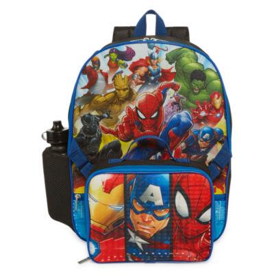 Avengers 3PC Backpack-Boys