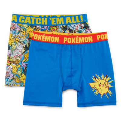 Boys Atletic Boxer Briefs 2pk 2 Pair Pokemon Boxer Briefs Big Kid Boys
