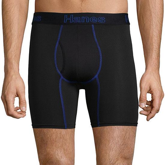 Hanes Comfort Flex Fit 3 + 1 Bonus Pair Boxer Briefs - Men's