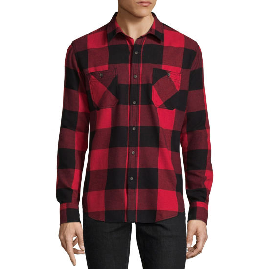 Arizona Long Sleeve Button Down Flannel