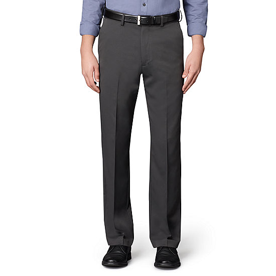 fb702bf677 Mens Van Heusen No Iron Extender Flat Front Pants Big   Tall JCPenney