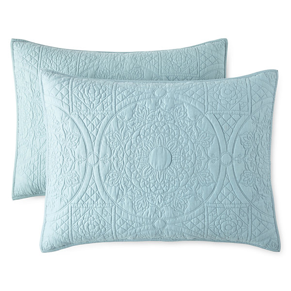 JCPenney Home Emma 2-Pack Pillow Shams