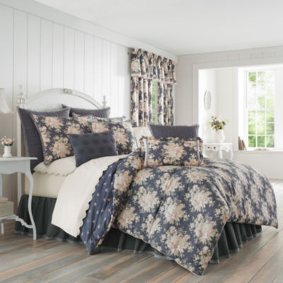 Queen Street Bailee 4-pc. Floral Heavyweight Comforter Set