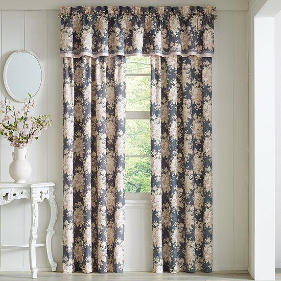 Queen Street Bailee Rod-Pocket Curtain Panel