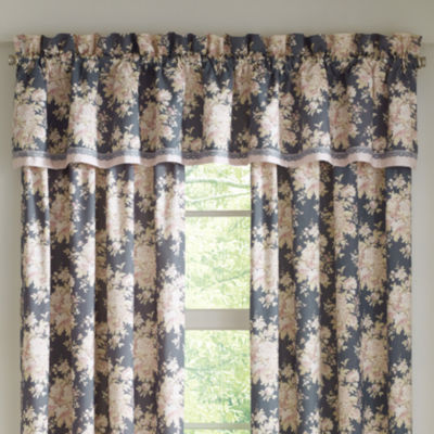 Queen Street Bailee Rod-Pocket Tailored Valance