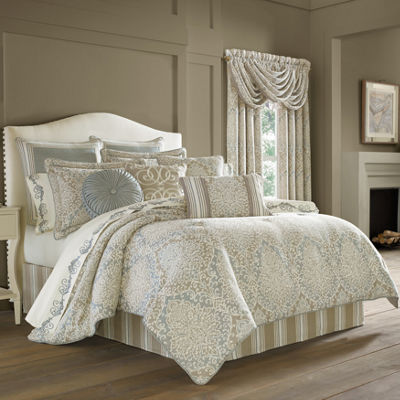 Queen Street Rainna 4-pc. Comforter Set & Accessories